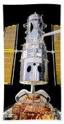 Hubble Space Telescope Redeployment  Beach Towel