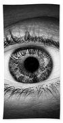 Human Eye Beach Sheet