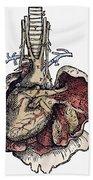 Human Heart, 1543 Beach Towel