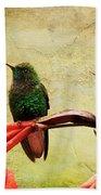 Hummingbird 1 Beach Towel