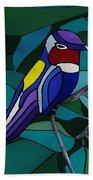 Hummingbird Hamlet Beach Towel