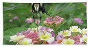 Hummingbird Moth Beach Towel