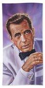 Humphrey Bogart Beach Towel