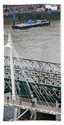 Hungerford Bridge Beach Sheet