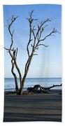Hunting Island Graveyard Beach Towel