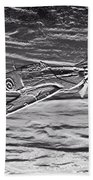Hurricane Fighter Plane Relief Beach Towel