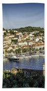 Hvar Overlook Beach Towel