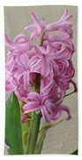 Hyacinth Pink Beach Towel