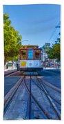 Hyde Street Trolley Beach Sheet