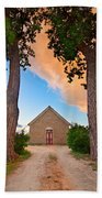 Hygiene Colorado Church Of The Brethren 1880 Sunset Beach Towel