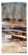Hymen Terrace Yellowstone National Park Beach Towel
