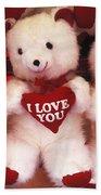 I Love You Bears Beach Towel