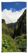 Iao Needle - Iao Valley Beach Towel