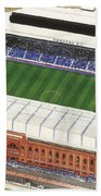 Ibrox Stadium Beach Towel