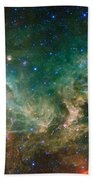 Ic 2177-seagull Nebula Beach Towel