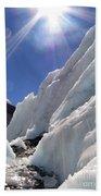 Ice And Sun Beach Towel