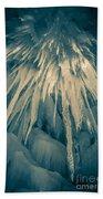 Ice Cave Beach Towel