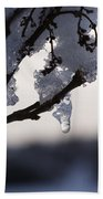 Ice Drop Beach Towel