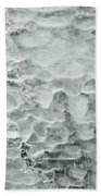 Ice Formations Beach Towel