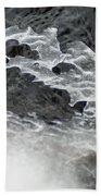 Ice Formations Viii Beach Towel