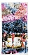 Ice Number Four Beach Towel by Bob Orsillo