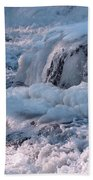 Iced Water Beach Towel