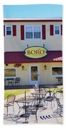 Icehouse Waterfront Restaurant 2 Beach Towel