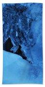 Icy Grimace Beach Towel