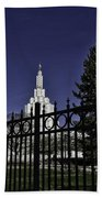 Idaho Falls Temple Series 4 Beach Towel