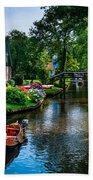 Idyllic Village 15. Venice Of The North Beach Towel