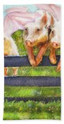 If Pigs Could Fly Beach Towel by Jane Schnetlage