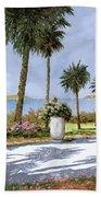 Il Giardino Delle Palme Beach Towel by Guido Borelli