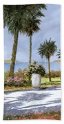 Il Giardino Delle Palme Beach Towel