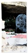 I'll Be Back By Jrr Beach Towel