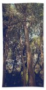 I'll Float Up Into The Wavy Trees Beach Towel