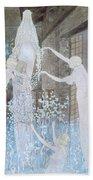 Illustation From Le Reve Beach Towel