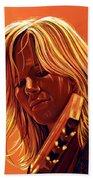 Ilse Delange Painting Beach Towel by Paul Meijering