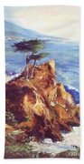Imaginary Cypress Beach Towel