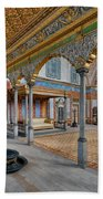 Imperial Hall Of Harem In Topkapi Palace Beach Towel