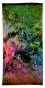 In A Colorful World Beach Towel
