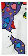 In Love Beach Towel