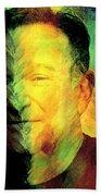 In Memory Of Robin Williams Beach Towel