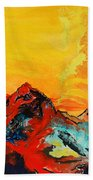 In Mountains Beach Towel