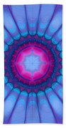 In Pink Ink Beach Towel