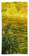 In Praise Of Grass Beach Towel