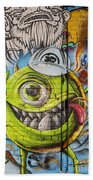 In The Eye Of The Beholder  Beach Towel