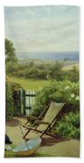 In The Garden Beach Towel by Thomas James Lloyd
