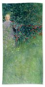 In The Hawthorn Hedge Beach Towel
