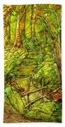 In The Heart Of The Forest Beach Towel