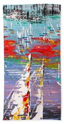 In The Lead - Sold Beach Towel